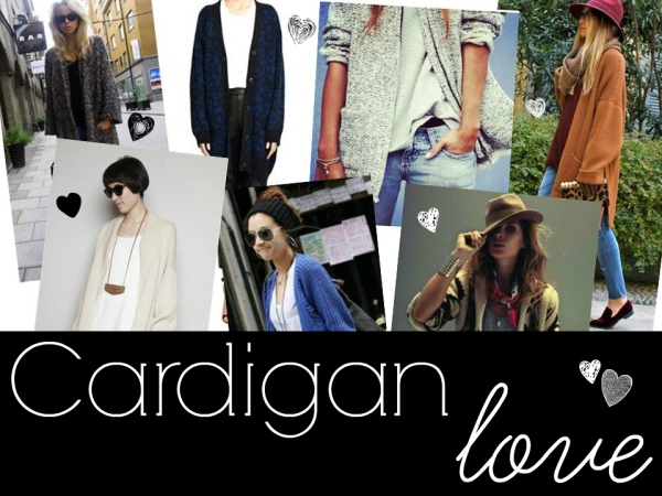 ways to style a cardigan for fall