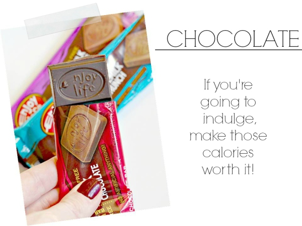 enjoy life chocolate, ways to pamper yourself