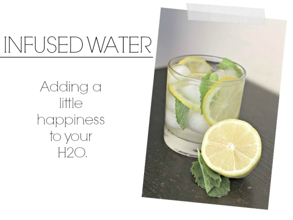 lemon water, infused water, ways to pamper yourself