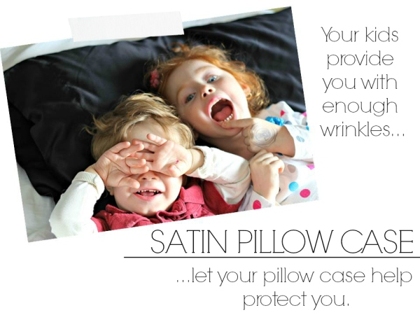 satin pillow case from savvy sleeper, ways to pamper yourself