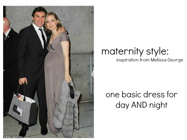 dressing a bump for day and night