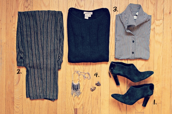 3 Work Outfits in 4 Easy Steps